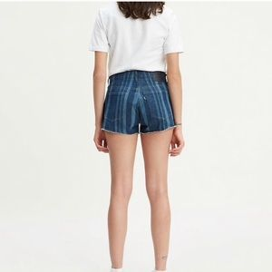 Levi's • Laser Stripe High-Rise Jeans Shorts